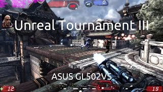 Gameplay of Unreal Tournament III on the ASUS GL502VS running the nVidia GTX 1070.Captured with nVidia GeForce Experience.Twitter: https://twitter.com/IVIauriciusInstagram: https://www.instagram.com/IVIauriciusFacebook: https://www.facebook.com/IVIauriciusSteam: http://steamcommunity.com/id/IVIauriciusPatreon: https://www.patreon.com/IVIauriciusPayPal Donate: https://goo.gl/yvOyR1ASUS GL502VS Specs:Intel Core i7 6700HQ32GB 2133Mhz DDR4 RAM1TB Crucial MX300 m.2 SSD2TB Seagate 5400RPM HDDnVidia GTX 1070Settings:Max Settings1920x1080GSync Disabled