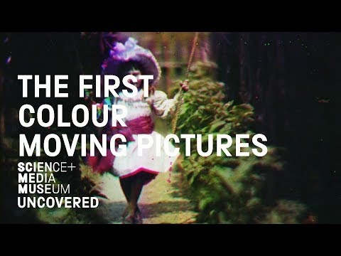 The First Colour Moving Pictures at the National Media Museum