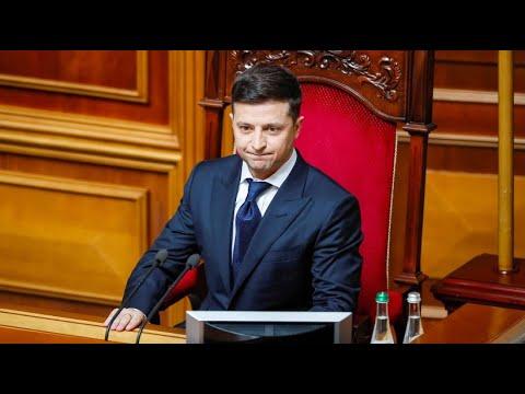 Ukraine: Umbruch - Präsident Selenskyj ordnet Neuwahl ...