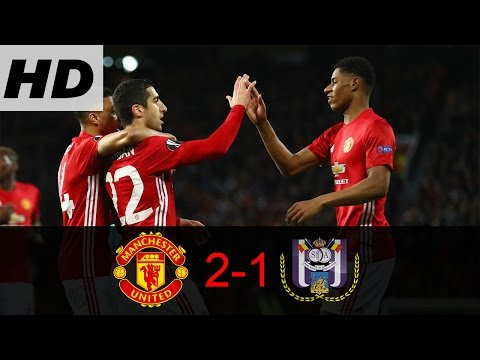 Wow!!! Highlight / Cuplikan Manchester United vs Anderlecht 2-1   All Goals 20/04/2017 HD