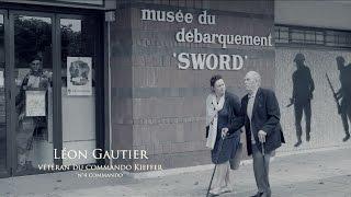 Léon Gautier Vétéran du commando Kieffer