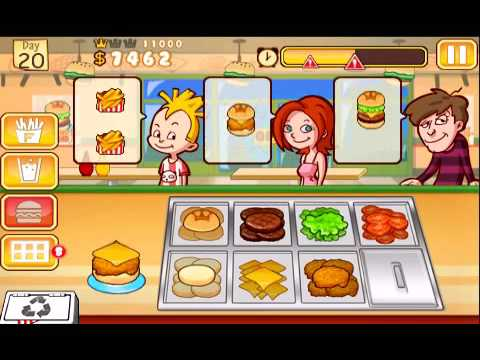 0 Test : Burger Queen ( iPhone )
