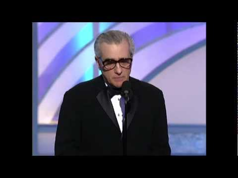 Martin Scorsese Wins Best Director Motion Picture - Golden Globes 2003