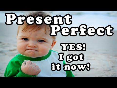 Present perfect class - المضارع التام  - understanding present perfect