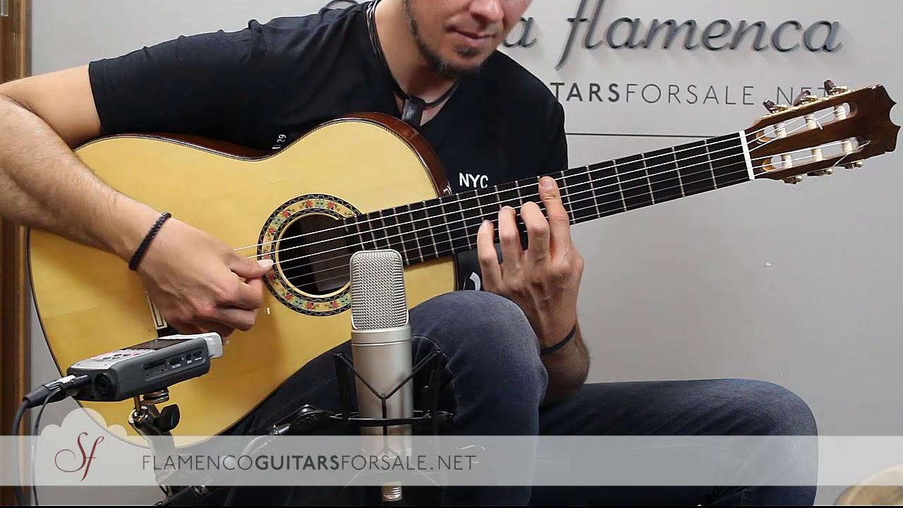 VIDEO TEST:Felipe Conde Crespo nº23 2018 flamenco guitar for sale