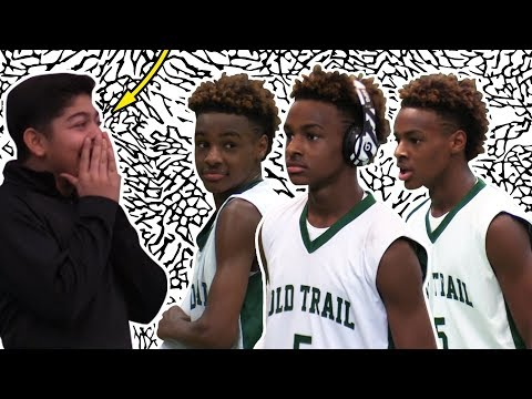 LeBron James Jr. Leads Middle School Team To A Championship?????? | CRAZY VISION??