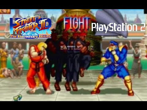 Street Fighter Anniversary Collection Playstation 2