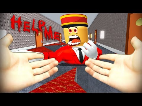Realistic Roblox - ESCAPE THE HOTEL AND EVIL MANAGER OBBY! (видео)
