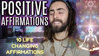 ☯ Today we discover positive affirmations, the powers they hold to change our lives and a collection of 10 i think might help you along your path. Enjoy! ☯FREE Guided Meditation MP3 by Me: https://goo.gl/woXGMIjPrivate Advice & Counseling Sessions: https://koifres.co/collections/adviceSupport Me on Patreon: https://www.patreon.com/KoiFresco?ty=hMy Crystal Shop: https://koifres.co/collections/crystalsMy Book: https://www.createspace.com/6289860☯☯☯☯☯ Social Media ☯☯☯☯☯Vlog Channel: https://www.youtube.com/c/koisquest Younow: https://www.Younow.com/KoiFrescoTwitter: https://Twitter.com/KoiFrescoInstagram: https://Instagram.com/KoiFrescoSong: Flute Music!  (all rights belong to original owner)☯☯☯☯ legal ☯☯☯☯☯all footage images used in this video are used legally for criticism, commentary & education, and are protected by the Fair Use Law/Act: Section 107 of the USC:https://www.copyright.gov/legislation/dmca.pdf For Business Inquiries contact: koifresco@gmail.com☯THANK YOU FOR YOUR SUPPORT☯Hannah WatlandLaureen Regana