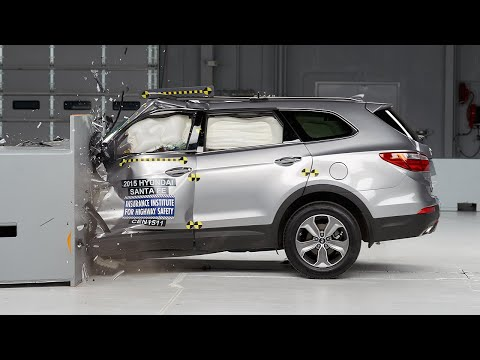 Hyundai santa fe crash test 2015 снимок