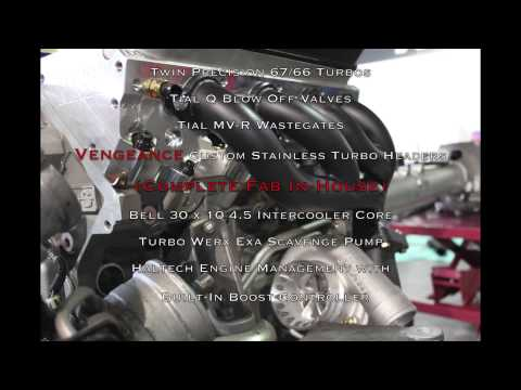 Vengeance Racing Twin Turbo 457 cubic inch C6 Z06