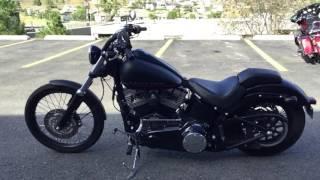 9. 2012 Harley-Davidson FXS Softail Blackline