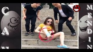 Video FUNNY PRANK 2017 | Try Not To Laugh or Grin-Gone Wrong Prank Compilation challenge#12 MP3, 3GP, MP4, WEBM, AVI, FLV November 2017