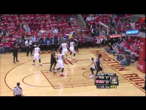 Jeremy Lin three pointer & driving lay in vs Blazers