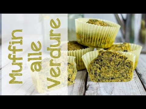 video ricetta - muffin alle verdure