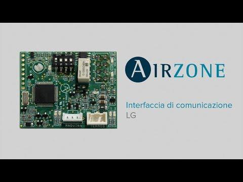 Installazione interfaccia di comunicazione LG