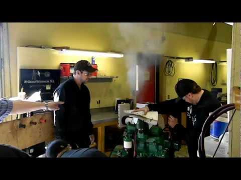 Mechanics scramble to take control of John Deer Diesel 300
