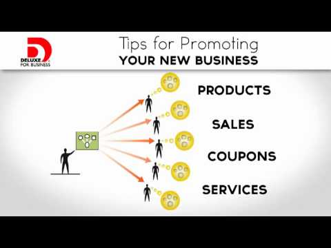 Small Business Ideas — Tips for Promoting Your New Business