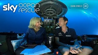 Sky News' first broadcast for Deep Ocean Live