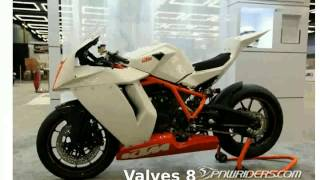 1. 2013 KTM 1190 RC8 R Race Spec - Details, Walkaround