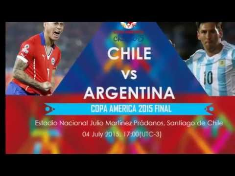 So Exciting Match Argentina Vs Chili