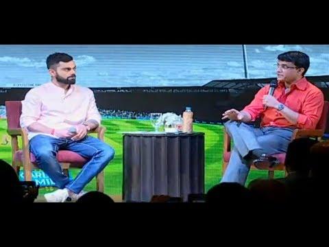 Video Exclusive: Virat Kohli & Sourav Ganguly At Boria's Book Launch   Sports Tak download in MP3, 3GP, MP4, WEBM, AVI, FLV January 2017