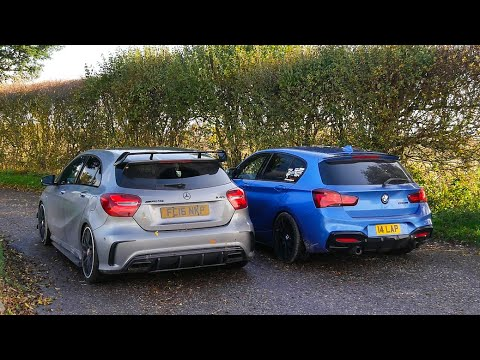 Hot Hatch Head2Head #14: 480bhp M140i vs 460bhp A45 AMG
