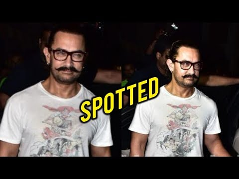 Aamir Khan Pampers Himself In A Spa, Meets And Smi