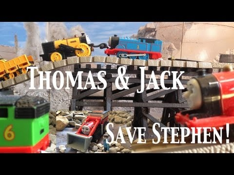 Thomas and Friends Trackmaster Village King of the Railway Thomas and Jack Save Stephen!