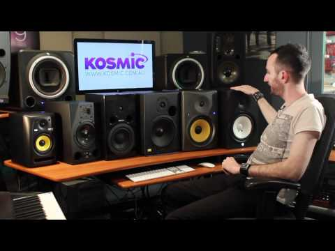 speakers - Leonard from Kosmic gives you some tips on what to look for when purchasing studio monitor speakers. He takes you through some of the range that we stock her...