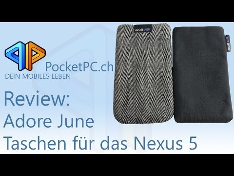 Adore June Handytaschen für das Nexus 5 im Test