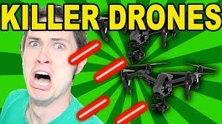 WHEN DRONES ATTACK!