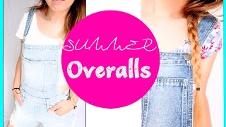 ✿ Summer Overalls Looks - YouTube