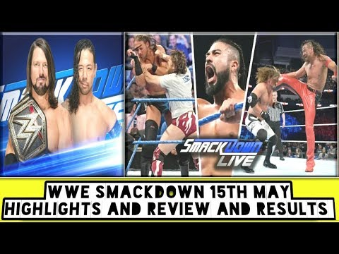 WWE Smackdown 15th May Highlights And Review And Results/World Wrestling Tamil
