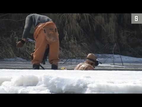 Grenze zwischen Nordkorea und China: Goldsucher hinte ...