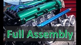 "Older video that I filmed back when I was putting my all motor ITB Miata engine together for the most recent build. In the video we go over complete assembly of a bare cylinder head, valvetrain components, valve seals and how to check cold lash. How change valveseals without removing the head: https://www.youtube.com/edit?o=U&video_id=7qyuGLzRLyMFor regular updates follow: http://www.garagequinn.comhttp://www.instagram.com/gqm_garagequinnmotors@gqm_garagequinnmotorsMusic Tracks:""Hard Sell Mini Mix""""Peace Flower""KetsaLicensed under Creative Commons: By Attribution 3.0http://creativecommons.org/licenses/by/3.0/"