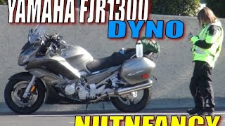 9. Yamaha FJR1300 Dynos at 127HP at 4300ft