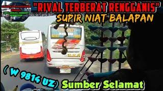 """Video """"RIVAL TERBERAT RENGGANIS, SUPIR NIAT BALAPAN""""   Trip report bus SUMBER SELAMAT ATB (W 9814 UZ) MP3, 3GP, MP4, WEBM, AVI, FLV November 2018"""