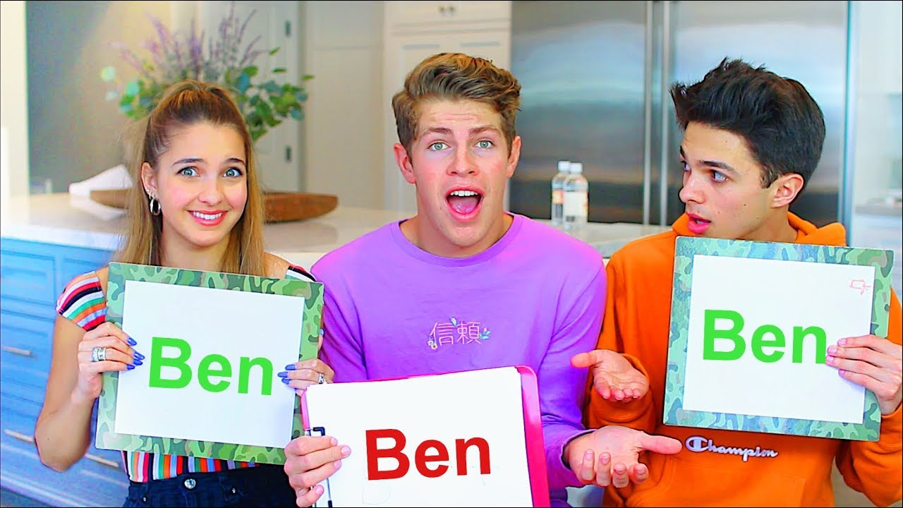 WHO'S MOST LIKELY TO w/ Brent Rivera and Lexi Rivera! - YouTube
