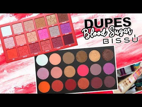 Videos de uñas - DUPES CON BISSÚ: BLOOD SUGAR de Jeffree Star Cosmetics / Individuales y Cuartetos  Karla Burelo :)