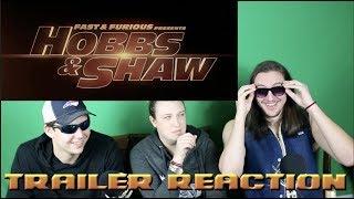 Fast & Furious: HOBBS & SHAW TRAILER REACTION #FastAndFurious #HobbsAndShaw #DwayneJohnson