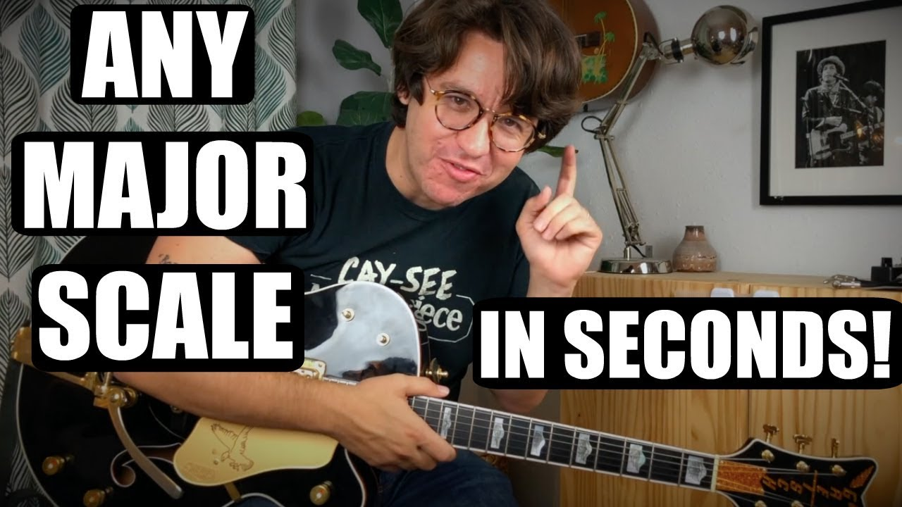 How to Find Major Scales Anywhere on the Guitar!