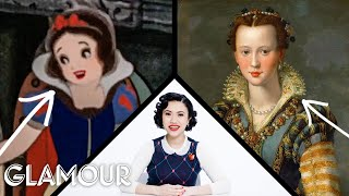Video Fashion Expert Fact Checks Snow White's Costumes | Glamour MP3, 3GP, MP4, WEBM, AVI, FLV Agustus 2019