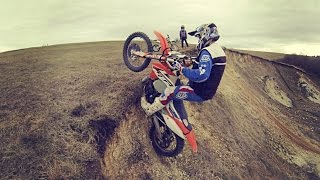 Subscribe to Channel: http://bit.ly/TheDirtBikeRiderWebsite: http://thedirtbikerider.com/..........................Read more..........................Welcome to The Dirtbike Rider, have you watched my last video called Enduro Beast - Braap for Life ? Where i promote my KTM EXC 2015 Factory Edition as Beast. Why my KTM EXC300 is Beast ?Its very simple because i have ton of most to make my bike run much better and smoother. In last mod to my bike i added MAP off and on switch what will allow me to control power from BEAST to Smooth power like on 4 stroke bikes. If you want to check all my mods please visit my second channel i upload every video from my garage to that second channel.In this video you can see my favorite skill its slow wheelies or some people will say its pivot turns. I really like to ride like Graham Jarvis and this is his style but i am still noob riding enduro.Also you can see few jumps and fails and i also like part in this video where i race with my friends KTM EXC350f 2017 vs KTM EXC300 2015 vs Suzuki RM250 2005. I hope you will really enjoy this video and subscribe to my channel to give me more motivation for recording new braap videos.I hope you will like my dron footage, i cant wait for summer so i can record more videos for you guys.MY SHOP (Buy one, Support me):https://www.printmotor.com/thedirtbikerider/Social Media:Facebook : https://www.facebook.com/TheDirtbikeRiderInstagram: https://instagram.com/TheDirtbikeRiderSecond Channel: https://youtube.com/TheDirtbikeRider1994GoPro Gimbal: Zhiyun-Tech EvolutionMY GEAR:ACTION CAMERA: http://amzn.to/2hootjgGOPRO GIMBAL: http://amzn.to/2gCKLOEOTHER CAMERA: http://amzn.to/2hoszIdBEST MICROPHONE: http://amzn.to/2gGTduKMusic:Title: F.O.O.L - FairytaleriTunes Download Link: https://itunes.apple.com/us/album/monstercat-best-of-dubstep/id1188452961Listen on Spotify: https://open.spotify.com/album/24YG3yxFaOBnHKhOSRN9ZbVideo Link: https://www.youtube.com/watch?v=li0diS4sJT8&t=21sTitle: Stonebank - SoldieriT