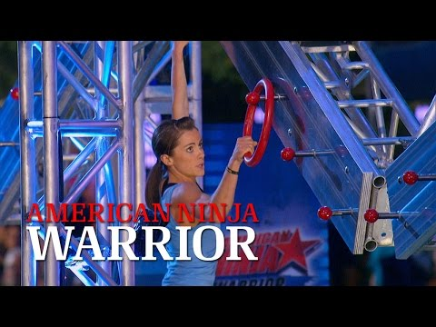Kacy Catanzaro at the 2014 Dallas Finals American Ninja