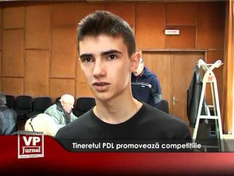 Tineretul PDL promovează competiţiile