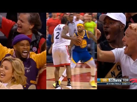 Kawhi Leonard shocks entire crowd after scores 10 straight points in 4th qtr vs Warriors
