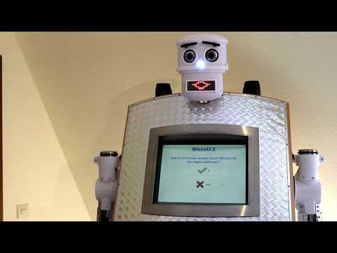 Robotski svećenik daje digitalne blagoslove
