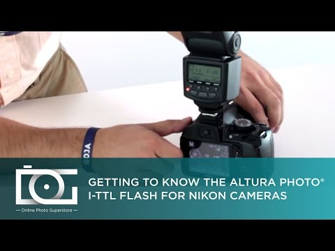 TUTORIAL | How To Use the Altura Photo I-TTL Flash for NIKON Cameras (AP-N1001)