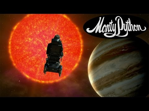 Stephen Hawking Covers Monty Python's 'Galaxy Song'